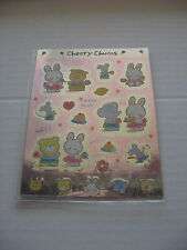 SANRIO CHEERY CHUMS  ARTBLOOM MINI SEAL STICKERS VINTAGE 1992