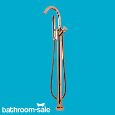 Transition rose gold floor standing bath shower mixer tap RRP £1169 NEW