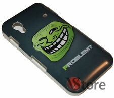 Cover Custodia Per Samsung Galaxy Ace S5830  Problem? Meme Troll + Pellicola