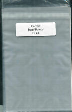 10 BCW Current Resealable Comic Book Bags/ Boards