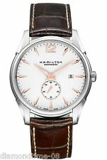 NEW HAMILTON JAZZMASTER SLIM PETITE SECONDE AUTOMATIC MEN'S WATCH H38655515