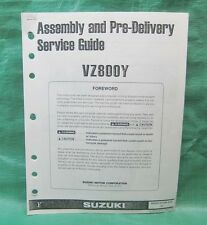 OEM Assembly Guide Manual Suzuki 800 Marauder VZ800Y 2000 '00 99505-01090-03E