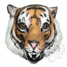 Latex Full Head Animal Popular Jungle Wild Cat Tiger Fancy Dress Carnival Mask