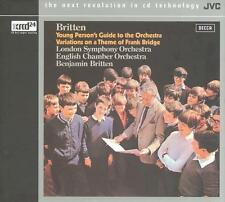 BRITTEN-YOUNG PERSON`S GUIDE TO THE ORCHESTRA  CD NEW