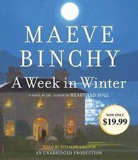 A Week in Winter by Maeve Binchy (2014, CD, Unabridged)