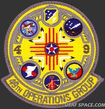 USAF 49th OPERATIONS GROUP – GAGGLE - MQ-1 Predator MQ-9 Reaper - ORIGINAL PATCH