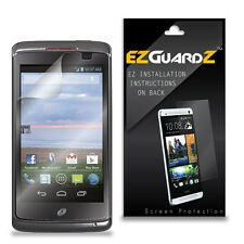 5X EZguardz LCD Screen Protector Cover 5X For Unimax Tracfone MaxPatriot U671C