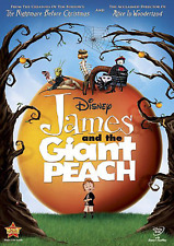 James and the Giant Peach [DVD, NEW] FREE SHIPPING