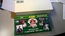 1991 Score Baseball Factory Set - Jones RC 900 Player Cards, 72 Magic Motion