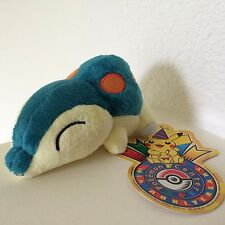 LEGIT Cyndaquil Poke Doll 10th Anniversary Pokemon Center Japan Plush Figure HTF