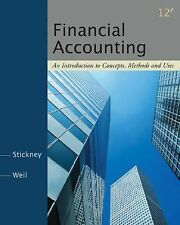 Financial Accounting: An Introduction to Concepts, Methods and Uses by Weil, Rom