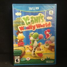 Yoshi's Woolly World (Nintendo Wii U, 2015) BRAND NEW