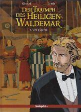 4 HC Alben der Triumph des Heiligen Waldemar v. Giroud / Brada in Topzustand !!!