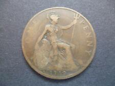 1919 HEATON PENNY COIN IN FAIR USED (CIRCULATED) CONDITION. 1919 ONE PENNY COIN.
