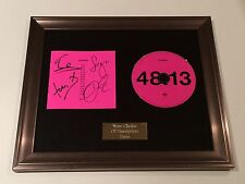 PERSONALLY SIGNED/AUTOGRAPHED KASABIAN - 48:13  FRAMED CD PRESENTATION. RARE