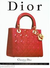 PUBLICITE ADVERTISING  116  1997   Dior  collection sac à main
