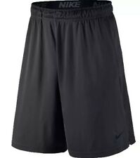 "Nike Men's 9"" Dri-Fit Training Workout Fly Shorts - Anthracite - XXL"