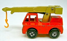 Matchbox Superfast Nr. 42A Iron Fairy Crane orange & goldmetallic