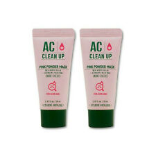 *Etude House* (New!) AC Clean up Pink Powder Mask Kit (20mlx2pcs) Korea Cosmetic