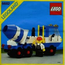NEW Lego Classic Town 6682 Cement Mixer LEGOLAND Construction Sealed - 1985'