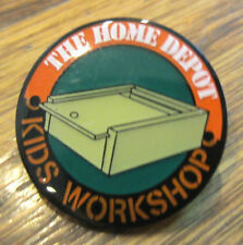 The Home Depot Kids Workshop Box With Sliding Lid Hat Lapel Pin