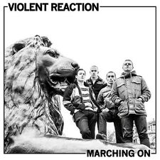 Violent Reaction - Marching On Cassette Tape - NEW COPY - Oi Punk