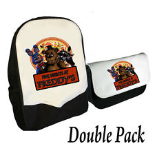 FIVE NIGHTS AT FREDDY'S BACKPACK & PENCILCASE DOUBLE PACK FREDDY PIZZA (BMS)