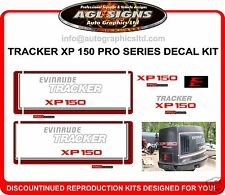 TRACKER XP 150 PRO SERIES DECAL SET, reproductions
