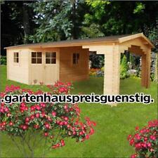 Gartenhaus Blockhaus 5 eckige gartenhäuser Holz 390x390 +390x390,28mm283935