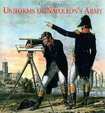 Uniforms of Napoleon's Army by Carle Vernet   new sb book    st/la