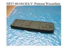 MGM 060-104 1/76 and 1/72 Resin WWII M k.V. Waterline Pontoon (barge)