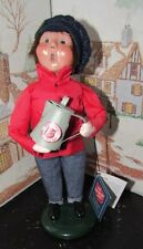 BYERS CHOICE Salvation Army Boy with Coffee Pot 2013 Hang Tag  *