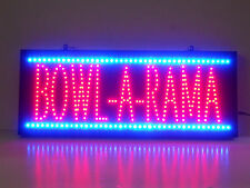 LED neon sign Bowl  Bowling Alley  Bowl-a-rama