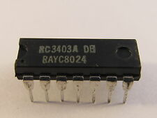 RC3403ADB Raytheon Total Quad Operational Amplifier DIP14