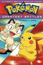 Pokemon Greatest Battles by Maria S Barbo - Scholastic