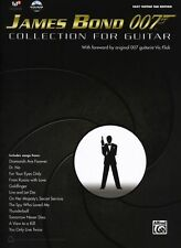 James Bond 007 Collection Guitar View to a Kill GOLDFINGER TAB Music Book & DVD
