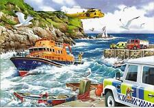 The House Of Puzzles - 1000 PIECE JIGSAW PUZZLE - Rescue RNLI Lifeboats