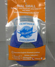 Bluestar Small Oval Blue Microfiber Eyepiece Eye Cushion Viewfinder Eyecushion