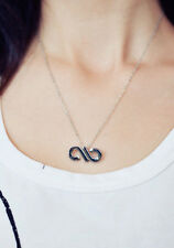 Korean Kpop Band Infinite Infinity Logo Necklace