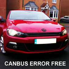 VW SCIROCCO XENON WHITE LED SIDELIGHT BULBS CANBUS ERROR FREE
