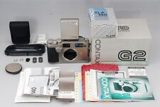 【RARE NEW】 Contax G2 35mm Rangefinder Film Camera w/TLA 140 from Japan #1460