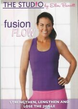 THE STUDIO BY ELLEN BARRETT FUSION FLOW WORKOUT DVD NEW BALLET BARRE EXERCISE
