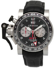 Graham Chronofighter Oversize GMT Chronograph Men's Watch - 2OVGS.B39A