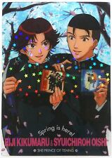 The Prince of Tennis Clear Trading Card Eiji Kikumaru & Shuichiro Oishi