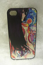 USA Seller Apple iPhone 4 & 4S  Anime Phone case Cover Sexy Anime Girls