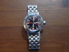 VOSTOK AMPHIBIA SE 420 RADIOROOM LTD EDITION WATCH  WITH WATCHADOO BRACELET!!!
