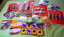 Spooky Party in a Bag  60+ pieces  Balloons Prizes Confetti Tattoos  NEW