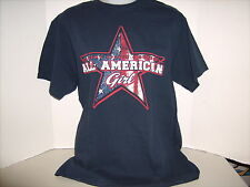 "Vintage Academy Sports & Outdoors T-Shirt ""All American Girl"""