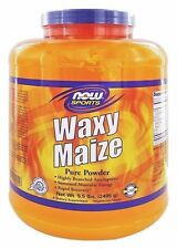 NOW Sports Foods WAXY MAIZE Pure Powder - 5.5 lbs RECOVERY, ENERGY, BUILD MUSCLE