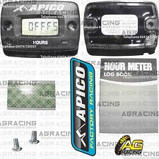 Apico Wireless Hour Meter Without Bracket For Kawasaki KX 65 1986-2002 Motocross